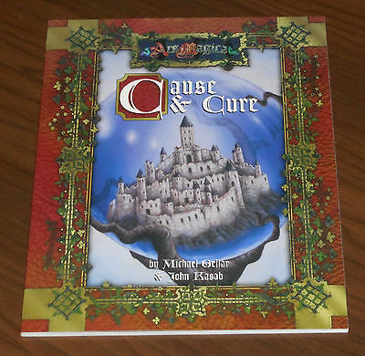 Ars Magica - Cause And Cure An Ars Magica Adventure Atlas Games 2004 Come Nuovo