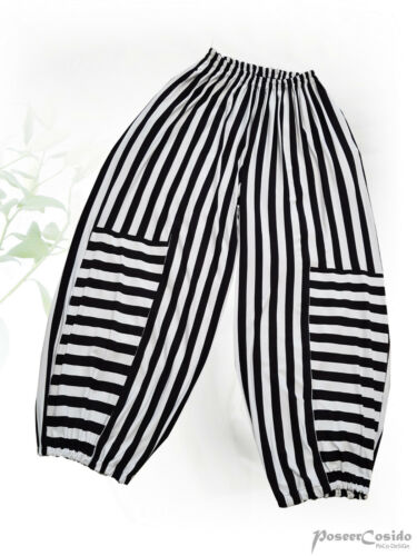 PoCo LAGENLOOK Shirt Ballon-Hose Streifen 4 46 48 50 52 54 56 58 L-XL-XXL-XXXL