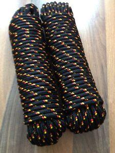 Leine Nr.43 Polypropylen Seil PP 8 mm 30 m Schnur Bootsleine,Reep,Weiß Seil