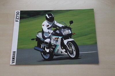 170834 Zeitschriften Automobilia Yamaha Fz 750 Prospekt 1991 Hoher Standard In QualitäT Und Hygiene
