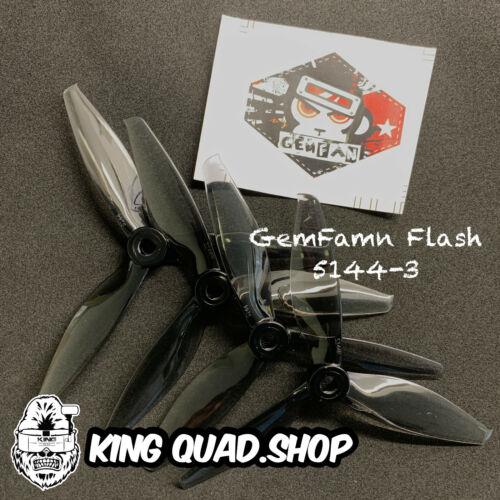 4pc Hélice CW CCW Gemfan Flash 5144 8 Prop Pack