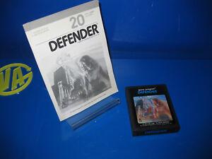 Juego-Para-Consola-Atari-2600-DEFENDER-sin-Caja-con-instrucciones-1986