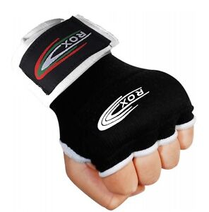 ROX Boxing Inner Hand Wraps Gloves Fist Padded Bandages MMA Thai Training Mitts
