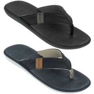 b8dff2dbb58691 JMR007 Malta Mens Non Slip Water Repellent Cushioned Thong Sandals ...
