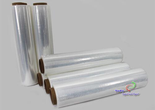 Paletten-Folie Hand-Stretchfolie Wickelfolie  transparent,ab 0,05€//1m