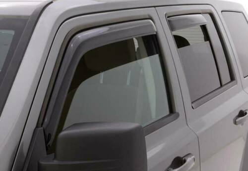 AVS Ventshade Smoked In Channel Vent Visor Rain Guards for 07-17 Jeep Patriot