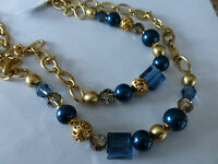 Brighton Contempo Chic Long Crystal/gold Necklace