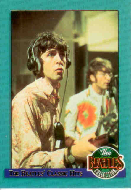The Beatles Trading Card subset Classic Hits CH5