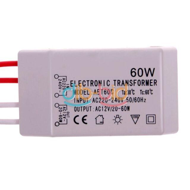12V 60W Power Supply Driver Electronic Transformer For LED Halogen Lights EBAU