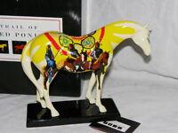 MIB Trail of Painted Ponies Unity 2003 1E/2098 EXC Retired Ceramic Horse RARE
