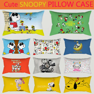 Home-Decor-Snoopy-Pillowcase-Cute-Dog-Pillow-Case-Bedroom-Sofa-Cushion-Cover