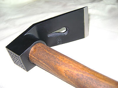 COMPACT UNIVERSAL WOODWORKING TOOL-  HAMMER - ADZE. AXE + CLAW HAMMER