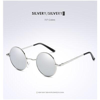 403d1361a1d0 Round Polarized Sunglasses Hippie Retro Vintage John Lennon Sunglasses  Eyewear 1