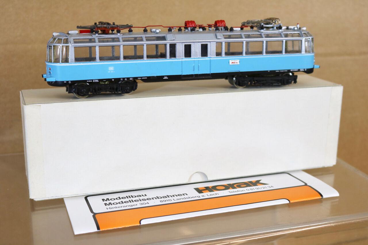 Horak Modellbau Db Triebwagen Br 491 001-4 Glaserner Zug Tranvía Carrito Coche