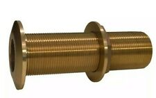 "THRU HULL FITTING BRONZE EXTRA LONG 34 THXL750W 3//4/"" PIPE GROCO BOATINGMALL"