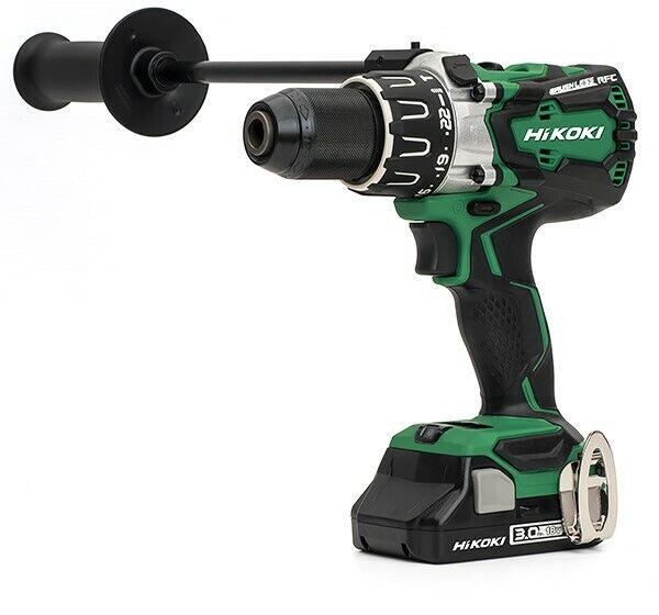 HiKOKI DV18DBXL JM Combi Drill 18V Cordless Brushless - 2 x 3.0Ah Batteries