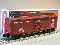 Lionel Pennsylvania Railroad Boxcar Made In The Usa Train Prr 6-81195