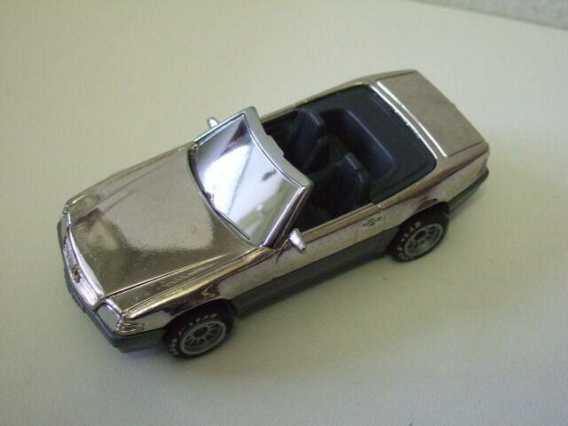 Matchbox RARE preproduction MB Mercedes Mercedes Mercedes Benz500 SL, chrome plated  | Exquisite (in) Verarbeitung  ad59cc