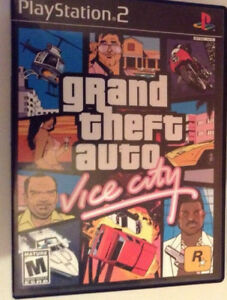 ec998d4d61a1 Grand Theft Auto  Vice City SONY PlayStation 2 PS2 GAME COMPLETE CIB ...