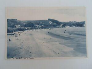 JERSEY St Brelades Bay+Church+Fishermans Chapel - Double View  Postcard  §ZA36