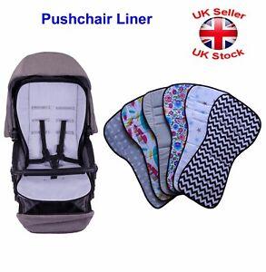 Baby-Pram-Pushchair-Stroller-Buggy-Liner-Pad-Mattress-Cover-100-Cotton