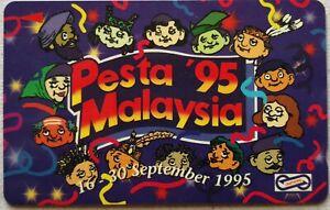 Malaysia Used Phone Cards - Pesta '95 Malaysia