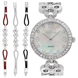 Croton Women's CN407567RHMP Quartz Interchangeable Multi-Color Bands 31mm Watch