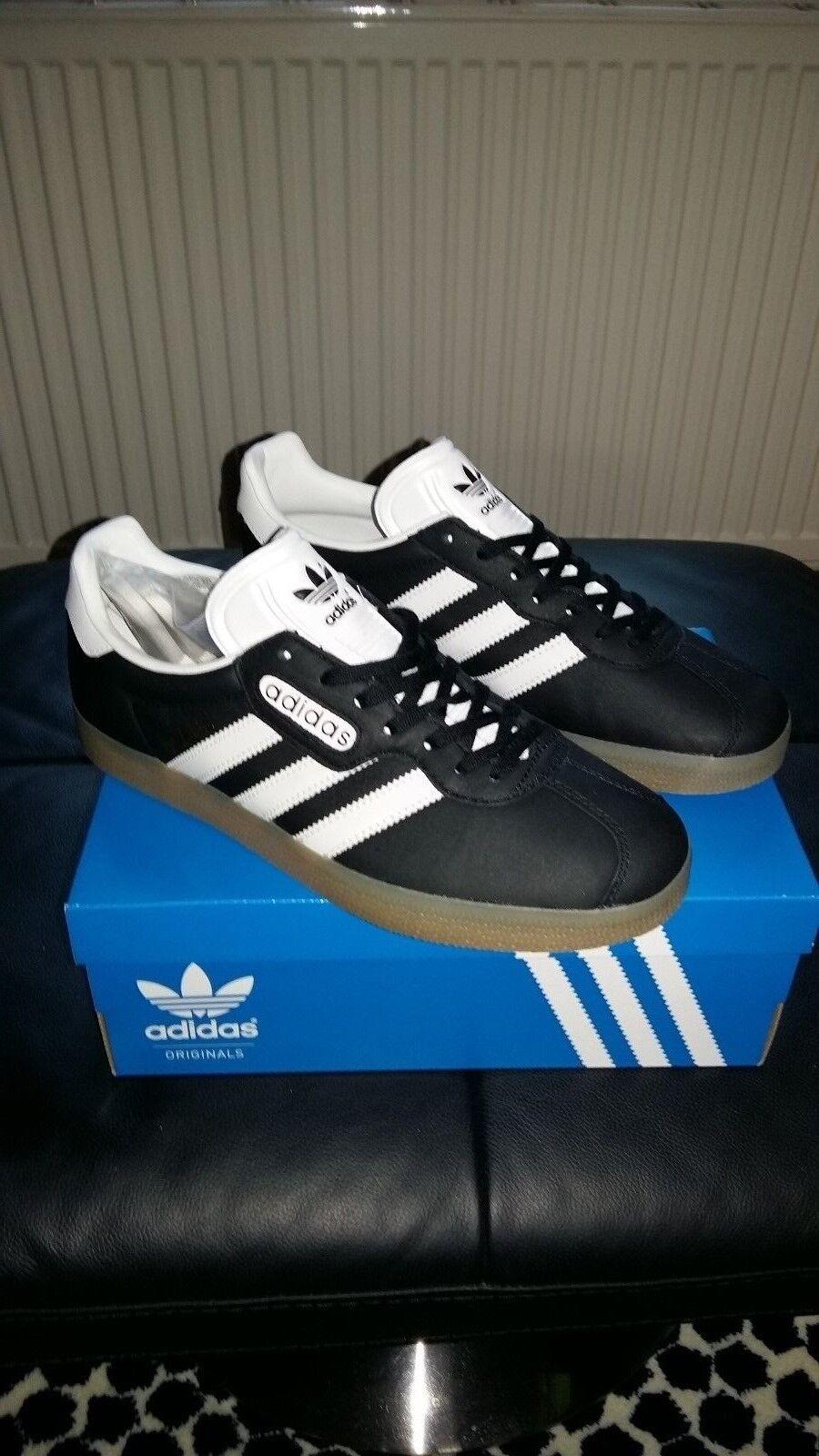 Adidas Gazelle Super Originals.. 7 Terrazas Retro Tenis Talla 7 Originals.. Reino Unido 40 2/3 euros 56ec6f