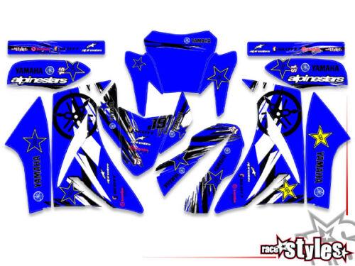 YAMAHA XT 660 R//X FULL Factory Racing DECORO DECAL ADESIVI KIT 2004-2015