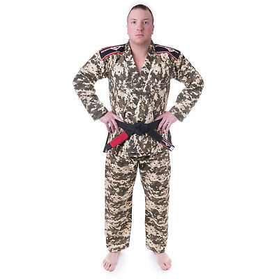 Smart Ko Sports Gear's Camo Gi Light-weight Rip Stop Bjj Kimono And Pants