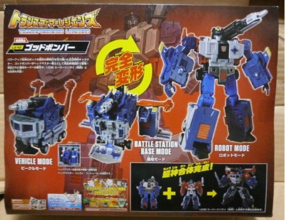 Figura De Transformers leyens LG42 godbomber Transformador nuevo envío de Japón