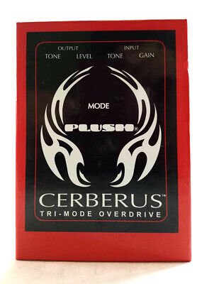 plush cerberus overdrive guitar effects pedal brand new ebay. Black Bedroom Furniture Sets. Home Design Ideas
