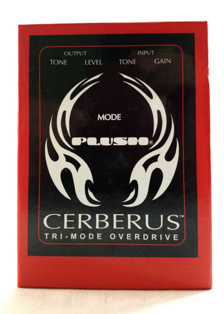 Plush Cerberus Overdrive Guitar Effects Pedal BRAND NEW