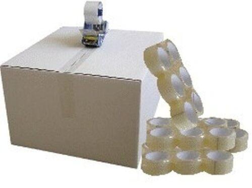 216 Rollen PaketklebebandPackbandPaketbandklar//transparent48mm×50m