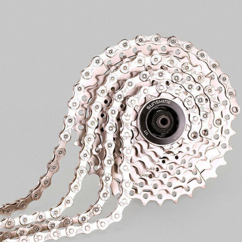Bicycle Shift Chain 116 Links 9//27 Speed MTB Mountain Bike Cycling Carbon Steel