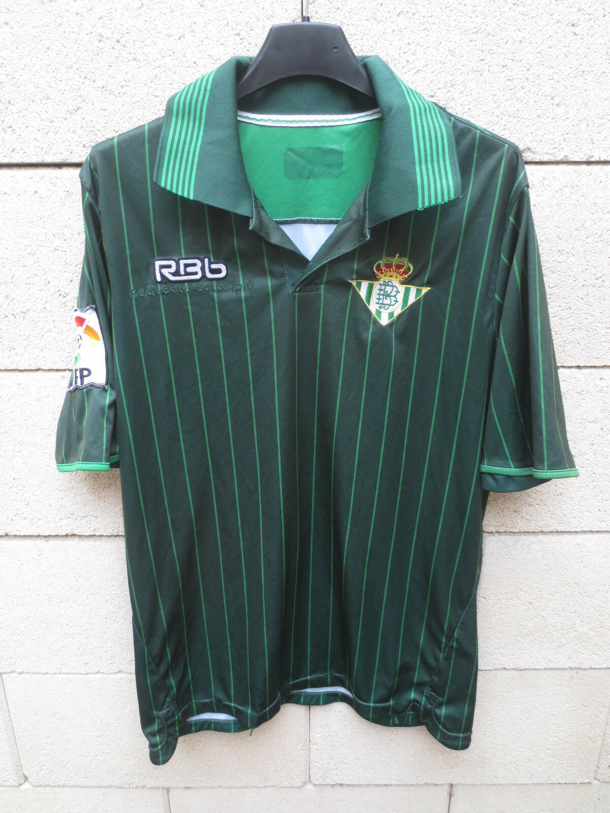 Maillot REAL BETIS Balompié 2012 n°14 LFP camiseta shirt jersey football away M