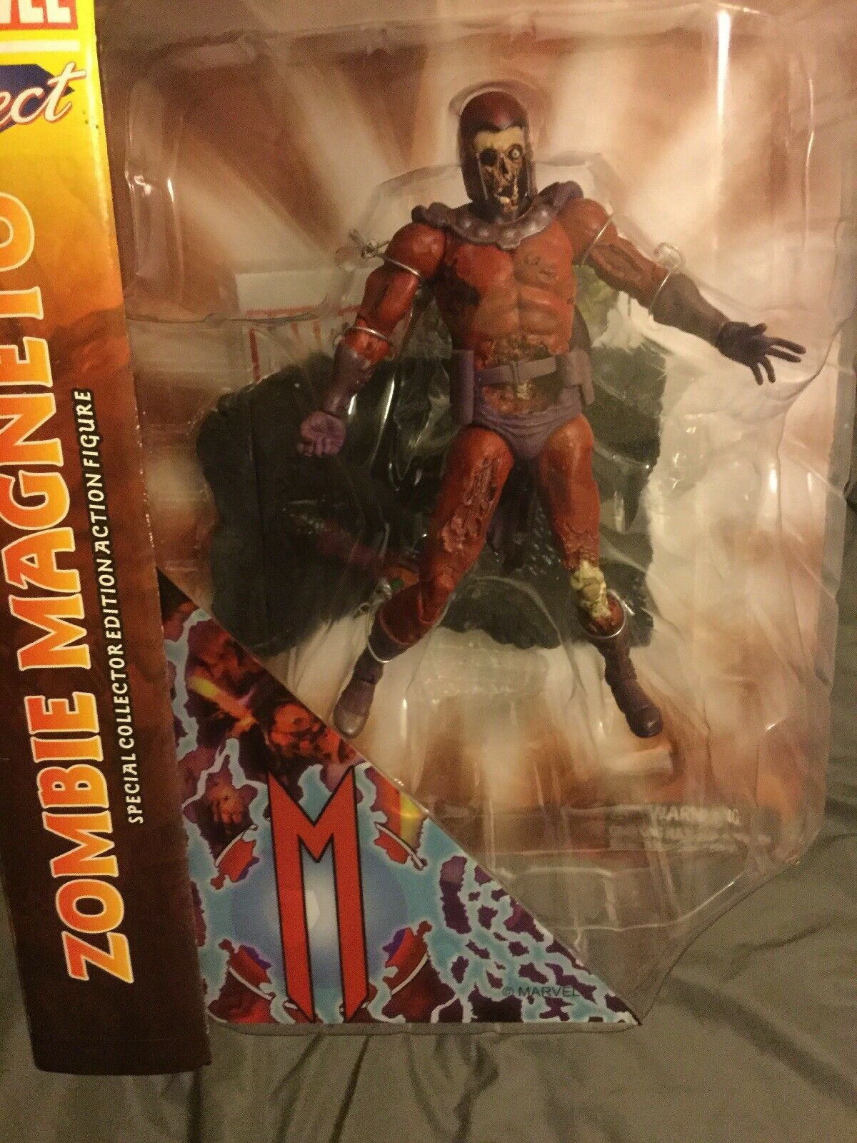 Zombie Magneto  Diamond Select Toys   Marvel Select 2014 X-Hommes Marvel Comics  distribution globale
