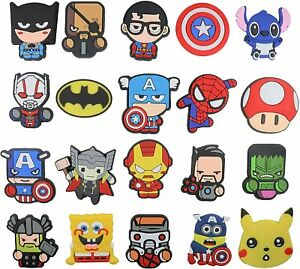 20pc Superhero Fridge magnets, Cartoon refigerator door, locker magnet USA SHIP