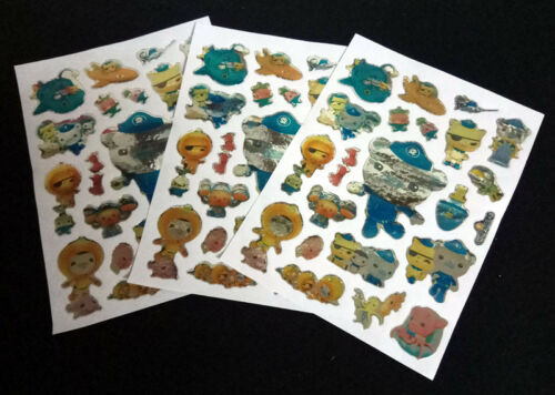 5 Sheet Stickers 97x125mm Boys Girls Kids Birthday Gift Party Bag Fillers Favor
