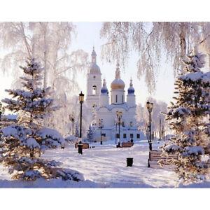 Peinture-par-Numeros-DIY-Peinture-Acrylique-Image-Art-Russe-Palace-en-Hiver