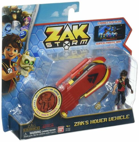 ZAK/'S HOVER VEHICLE ZAK STORM W// ACTION FIGURE BRAND NEW SEALED