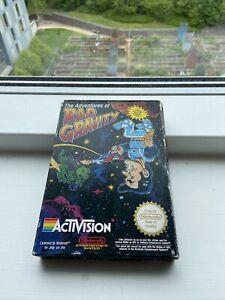 RAD GRAVITY - Nintendo NES Game - PAL Version COMPLETE IN BOX