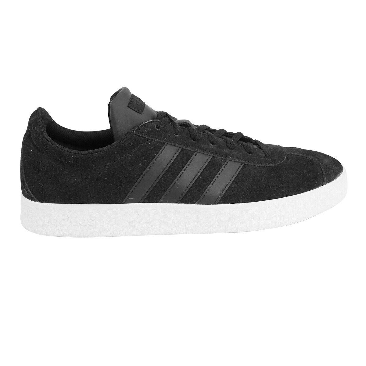 Adidas Originals VL COURT 2.0Wildleder Herren Turnschuhe Schuhe Neu