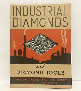 Vintage-Industrial-Diamonds-and-Tools-Brochure-Diamond-Tool-and-Die-Works-Epheme