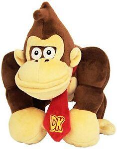 Donkey Kong (Super Mario) Nintendo Peluche Plush 23cm MULTIPLAYER
