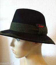Mayser * kemo sportiv * Hut *chapeau*hat*sombrero* Herrenhut * schwarz * 55