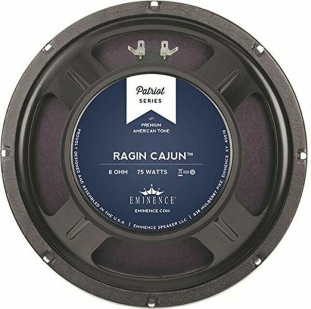 Eminence Patriot Ragin Cajun 10 inch Lead Rhythm Guitar Speaker 8 ohm 75 W RMS