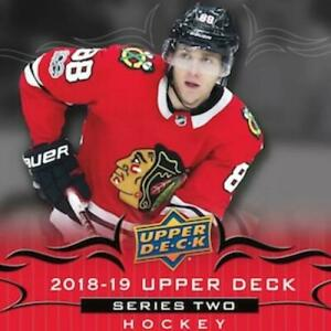 2018-19-Upper-Deck-Series-Two-Hockey-Cards-Pick-From-List-Includes-Young-Guns
