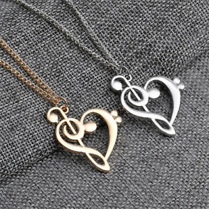 Luxury-Women-Men-Love-Hollow-Music-Notes-Necklace-Long-Sweater-Pendant-Jewelry