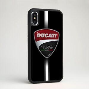 Ducati Corse Racing Motor Car Logo Tpu Silicone Case Cover For